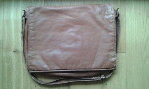 vintage ledertasche mit vielen fächern