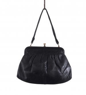 Carry Bag black-sand brown leather