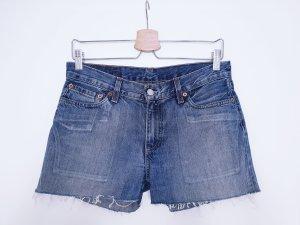 Vintage Levi's Shorts blau