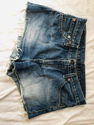 Levi's Short en jean bleu cachemire