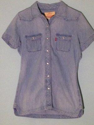 Vintage Levis Denim-Bluse