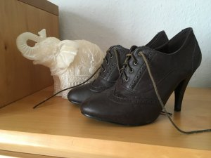 vintage like Schuhe dunkelbraun