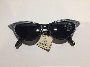 Linda farrow luxe Zonnebril zwart-zilver kunststof