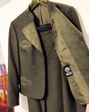 Vintage LodenFrey Trachten Woll-Janker mit Hirschhorn Knöpfen