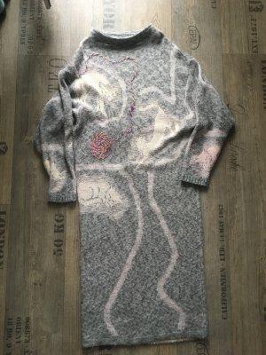 Vintage Abito di maglia argento