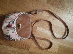 Vintage Look Minibag Blumenprint
