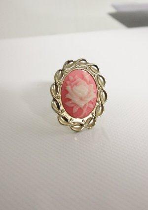 Vintage Look Ring romantisch Blume