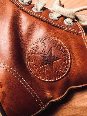 Vintage -Look Sneaker in Leder von Converse!