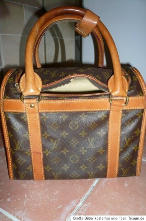 Vintage LOUIS VUITTON Beauty Case Doggy Bag Weekender