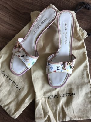 Vintage Louis Vuitton Mules, Multicolor, Größe 37