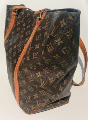 Louis Vuitton Bolsa de hombro multicolor Lino