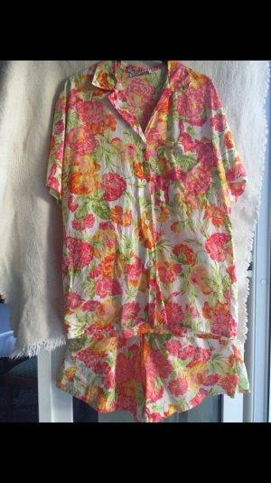 Vintage Beachwear multicolored cotton
