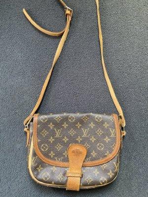 Louis Vuitton Borsa a spalla marrone chiaro-bronzo