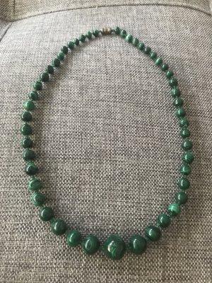 Vintage Malachit Kette aus Nachlass Halskette