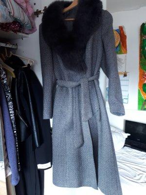 Fake Fur Coat multicolored new wool
