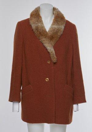 Vintage Cappotto in eco pelliccia multicolore