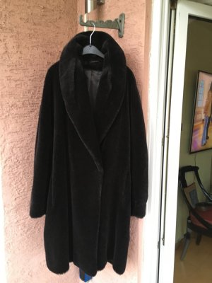 Jobis Oversized Coat black brown-black