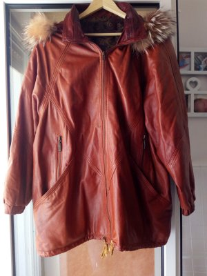 Vintage Mantel aus Nappaleder