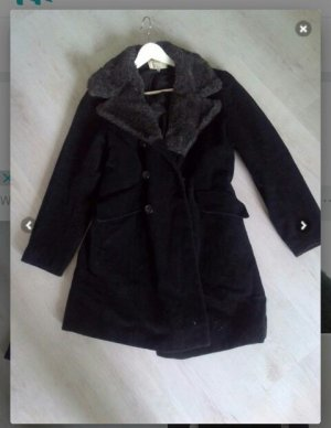 H&M L.O.G.G. Winter Coat black
