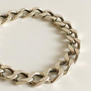 Vintage Massiv Sterlingsilber Armband 925 Silber Panzerarmband UNISEX