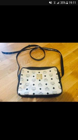 MCM Shoulder Bag white-black