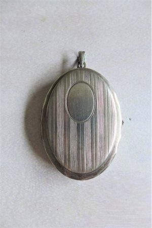 Vintage Medaillon Silber Tracht Dirndl Schmuck Anhänger Wiesn Oktoberfest