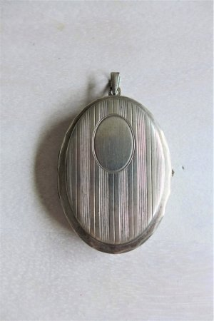 Vintage Colgante color plata