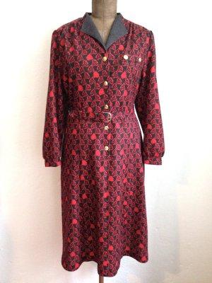 Vintage Midi Kleid aus Wollmischung, Gr. 42/44