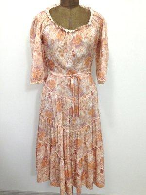 Vintage Midi Kleid Gr. 38