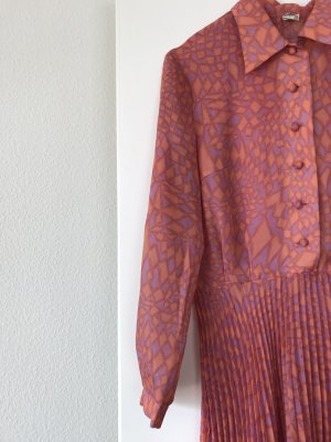 Vintage Midi Plisseekleid Gr. 36/38