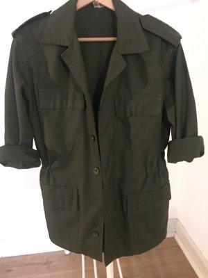 Vintage Military Jacke