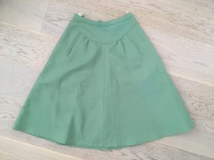 beclaimed vintage Falda de talle alto menta
