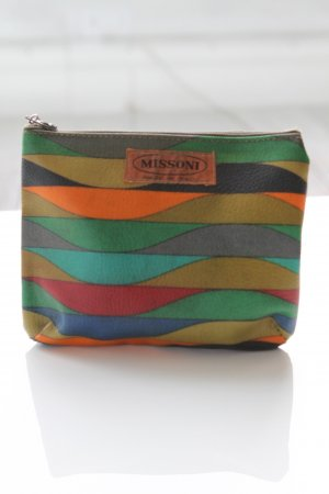 Vintage Missoni Leder Clutch
