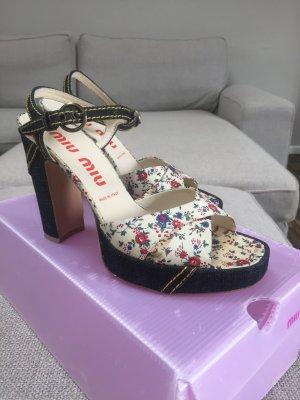 Vintage miu miu Sandaletten Gr. 38