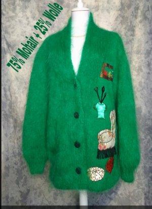 Vintage Chaqueta holgada verde
