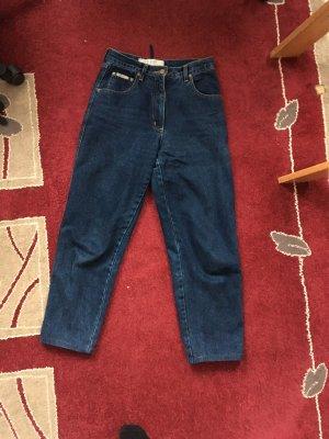 Vintage Wortel jeans veelkleurig
