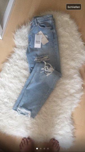 Vintage Mom Jeans Destroyed