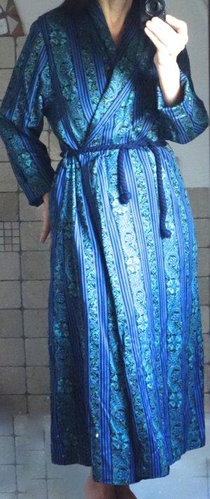 Badmantel blauw-groen Katoen
