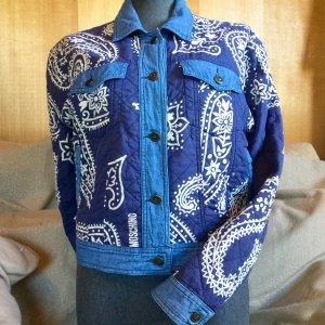 Vintage Moschino Jeans Jacke, Gr.40