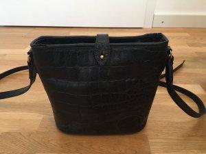 Mulberry Gekruiste tas zwart