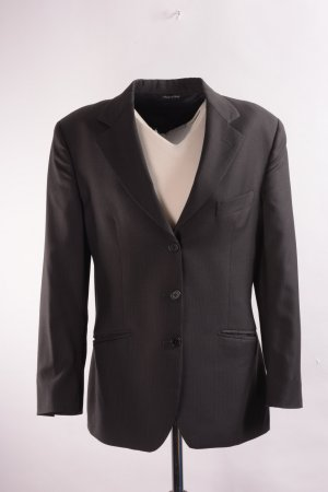 Wool Blazer taupe wool
