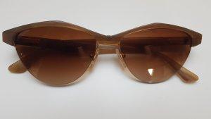 VINTAGE Naturhorn Sonnenbrille