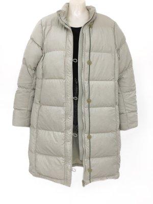 Vintage NIKE Daunen Maxi Mantel Jacke 90er 90s Urban Street Style Winter Oversize Daunenmantel