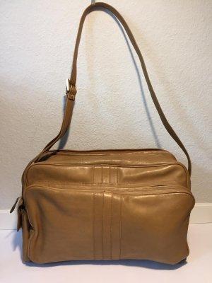 Vintage Nina Ricci Umhängetasche/Messenger Bag Leder