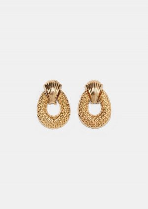 Vintage Ohrringe Clip Zara gold