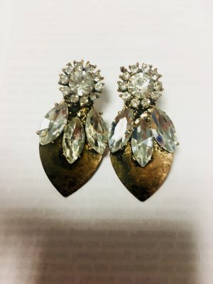 Vintage Ohrringe Hochzeit Standesamt bronze