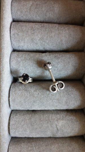 Vintage Ohrringe Silber