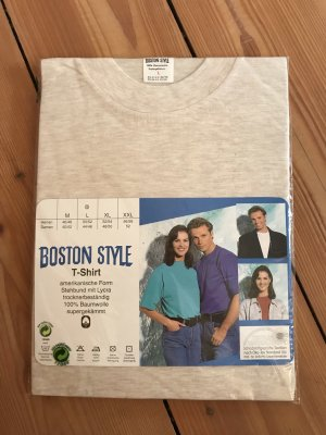 VINTAGE OLDSCHOOL Boston Style shirt weiß