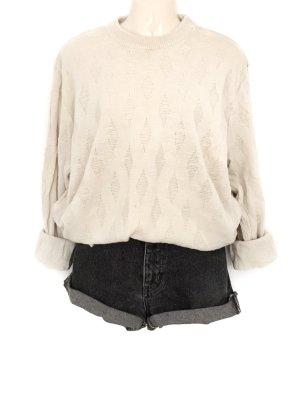 Vintage Original JOOP! Strick Pullover Oversize Knit Pulli Marke Cremefarben