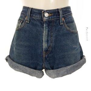 Vintage Original Levi's Highwaist Jeans Shorts Hose Denim Hippie Boho 90er